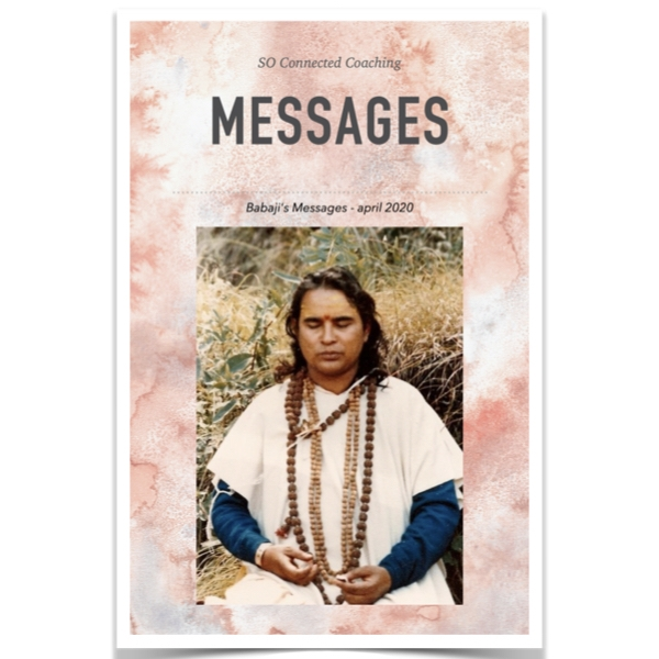 Babaji's Messages - 'Lockdown' 2020